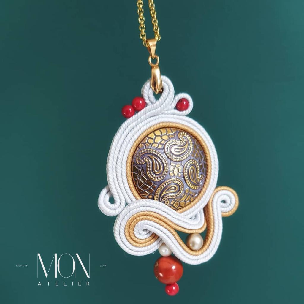 Monatelier biżuteria, sutaszowa biżuteria